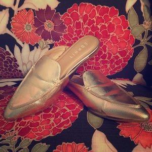 ESPRIT Rose gold mules loafers slides shoes